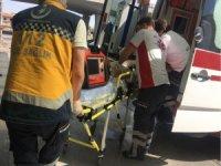 Karşıdan karşıya geçmeye çalışan çocuk kazada ağır yaralandı