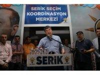"""Türel : """" 24 Haziran ülkeyi teslim etmek isteyenlerle istemeyenler arasındaki mücadeledir """""""