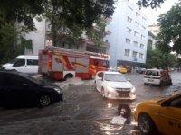 Başkent'te şiddetli yağışı
