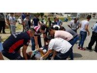 Tire'de Trafik Kazası 1Ağır Yaralı