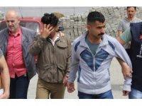 Samsun'da Suriyeli ve Iraklı gaspçılar tutuklandı