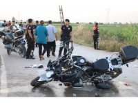 Polis limon hırsızlarını kovalarken kaza yaptı: 2 ağır yaralı