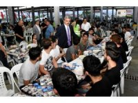 Nazilli Belediyesi'nden 5 bin kişilik iftar yemeği