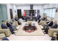 Taner Yıldız ve AK Parti İl Teşkilatından KAYSO'ya Ziyaret