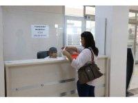 Pamukkale Belediyesi vatandaş için tapu veznesi kurdu