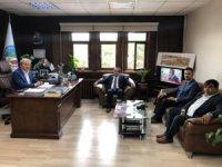 Bilecik TSO Başkanı Keskin'den, Belediye Başkanı Şahin'e ziyaret