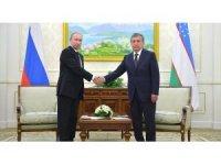 Putin ve Özbekistan Cumhurbaşkanı ile telefonda görüştü