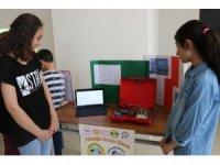 Çocukların projesi üniversitede sergilendi