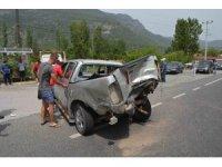 Köyceğiz'de zincirleme kaza; 6 yaralı