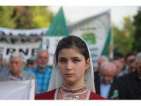 Sürgünün 154. yılında Çerkezler yürüyüş düzenledi