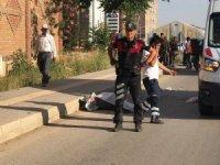 Kilis'te trafik kazası: 1 ölü, 1 yaralı