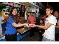 Efeler halkı Ramazan'da dondurma ile serinleyecek