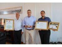 Ayvalık zeytinyağına dünya 2. liği ödülü