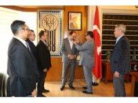 TSYD'den Başkan Altay'a hayırlı olsun ziyareti