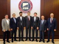 """Gaziantep Sanayi Odası'na """"Hayırlı Olsun"""" ziyaretleri"""