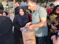 Ülkücülerden ihtiyaç sahibi ailelere Ramazan yardımı