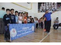 Erzincan'da geleceğin sporcuları keşfediliyor