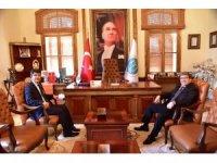 Başkan Can'a ziyaretler sürüyor