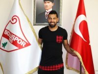 Boluspor'un yıldız oyuncusu Santos veda etti