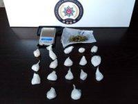 Denizli'de özel harekat polisi ve drone destekli uyuşturucu operasyonu
