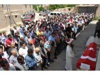 Kalp krizinden hayatını kaybeden polis memuru toprağa verildi