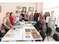 Atatürk Kadın Yaşam Köyü'nde kadınlara kurs