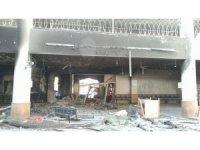 Suriye rejim güçleri Yermuk'te camileri de harabeye çevirdi