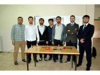 Üniversite öğrencileri, engelli bireyleri için akıllı baston