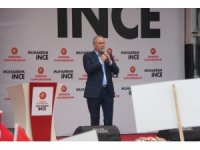 CHP Cumhurbaşkanı adayı Muharrem İnce Bolu'da