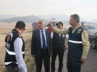 Vali Karahan, orman yangını ile ilgili açıklamalarda bulundu