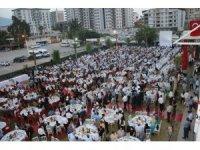 Hatay'da şehit yakınları ve gazi ailelerine iftar