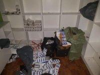 Polis ekiplerinden tütün kaçakçılarına operasyon