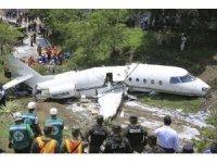 Honduras'ta jet uçağı düştü: 6 yaralı