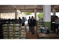 İl Müdürü Yoldaş, köylülerden ürünler hakkında bilgi aldı