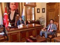Başkan Tuna, Başkan Can'la bir araya geldi