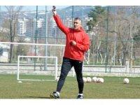 """Mehmet Altıparmak: """"Erzurumspor'da devam etmek isterim"""""""