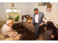 Başkan Cabbar hasta ve yaşlı ziyaretlerine devam ediyor