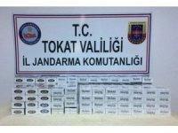 3 valizden bin 530 paket kaçak sigara çıktı