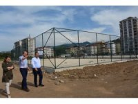 Görele'ye yeni spor tesislerin yapımına başlandı