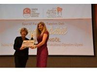 Hülya Berktaş Bingöl'e olimpiyat ödülü