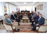 MHP adaylarından Vali ve Belediye Başkanı'na ziyaret