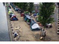 Paris'teki sığınmacı kampları kaldırılıyor