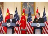 """Çin'den ABD'ye: """"Barış istiyorsanız, şimdi tam zamanı"""""""