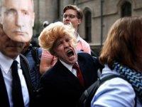New York'ta Trump'a protesto