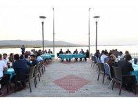 Başkan Tuna Evren'de vatandaşlarla birlikte orucunu açtı