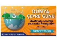 Bursa'da 'çevre günü' etkinlikleri
