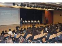 Eğitimin usta kalemi Sait Gürsoy Nesibe Aydın Okullarında öğrencilerle buluştu