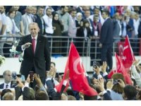 """Cumhurbaşkanı Recep Tayyip Erdoğan, """"Enflasyonla mücadele konusundaki yeni ve çok ciddi önlemleri seçimden sonra yürürlüğe koyacağız"""" dedi."""