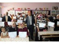 Surlu bin 919 kadın okuma yazma öğrendi