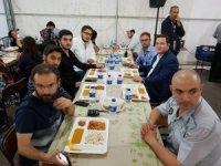 MÜSİAD Ramazan çadırında iftar açtırdı